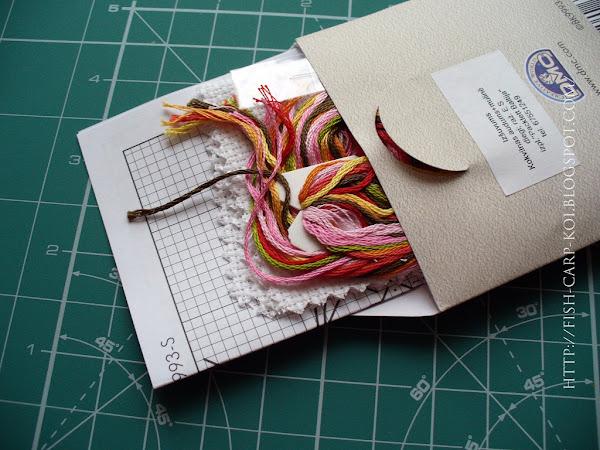 """Набор для вышивки крестом фирмы  DMC - """"Floral birdcage"""" / Птичья клетка с цветами"""