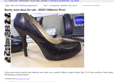 You've Must Be Kidding: Office Shoes