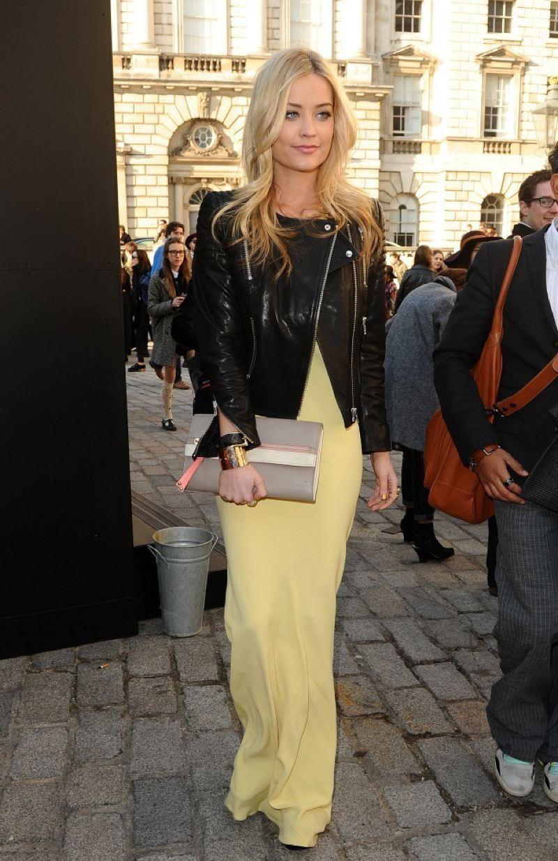 Laura@nubiles.net Laura Whitmore @ London Fashion Week Fall'13, Feb 19
