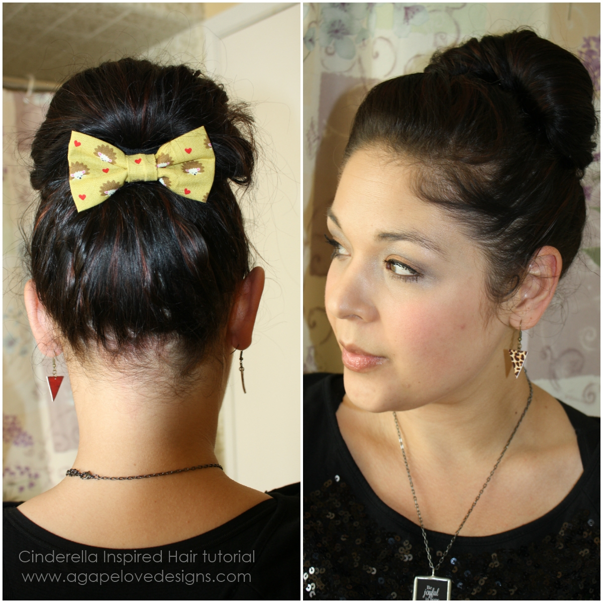 Agape love designs cinderella inspired hair tutorial what do you think baditri Gallery