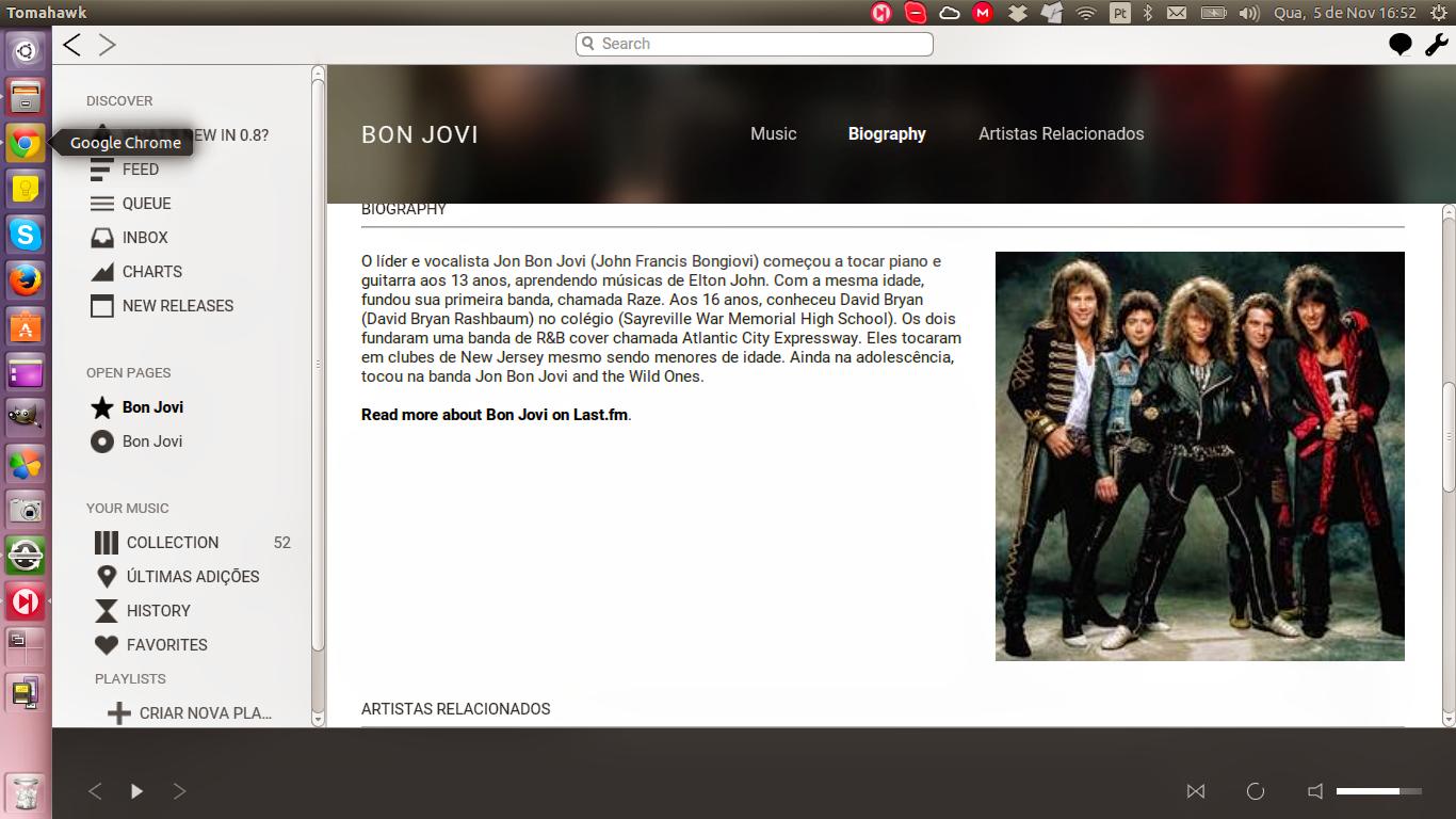 Bon Jovi Biography - Tomahawk