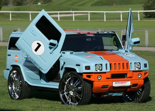 hummer h3 modified