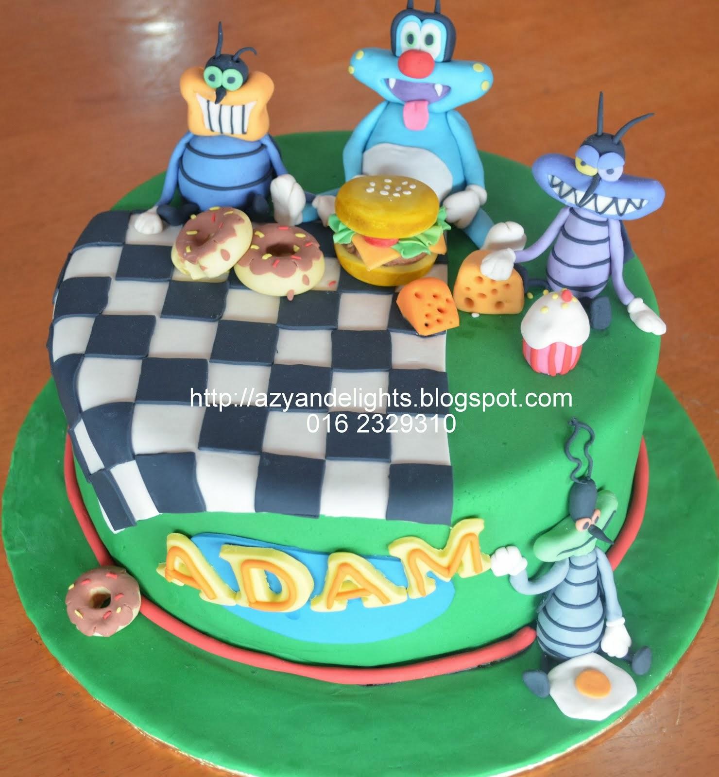 Ultraman Birthday Cake Design : Azyandelights: Ultraman Cake