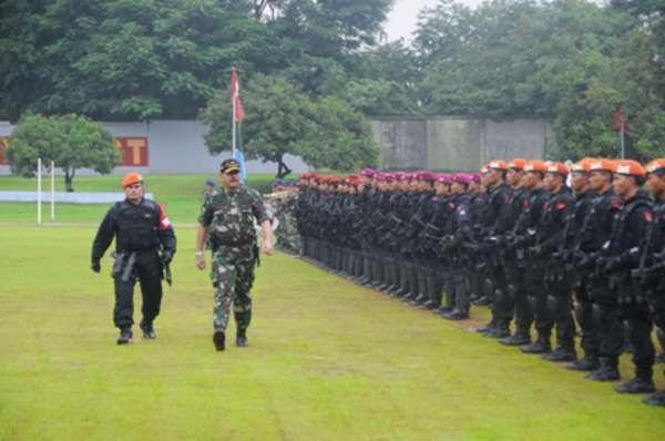 Kepala Staf Umum TNI Buka Latihan Penanggulangan Teror TNI