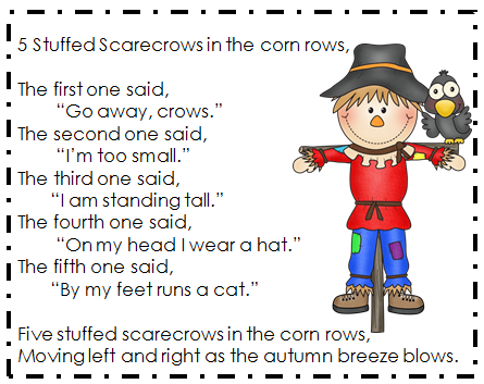 Scarecrows, Poem and Classroom freebies on Pinterest