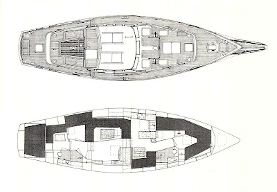 Design 2207 c1 nauticat 521 small to big boat plans for 521 plan