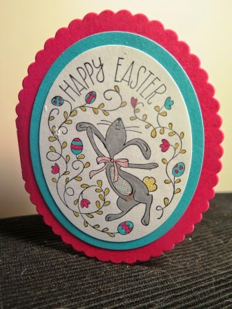 Easter card zena kennedy independant stampin up demonstrator