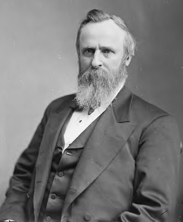 the political controversy involving rutherford hayes Rutherford b hayes, 19th president of the united states, representative of the republican party, was sworn in on march 4, 1877 during his single term as president, he ushered in the end of the reconstitution period, accelerating the process of national healing which began following the end of the civil war.