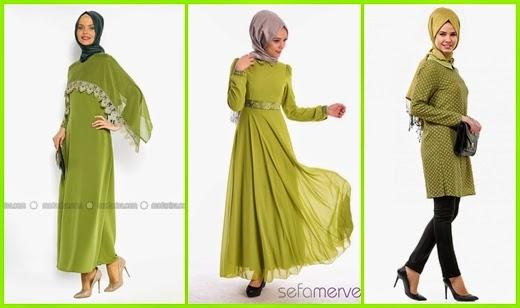 fıstık yeşili etek-gömlek-tunik-elbise-ve-abiye modelleri