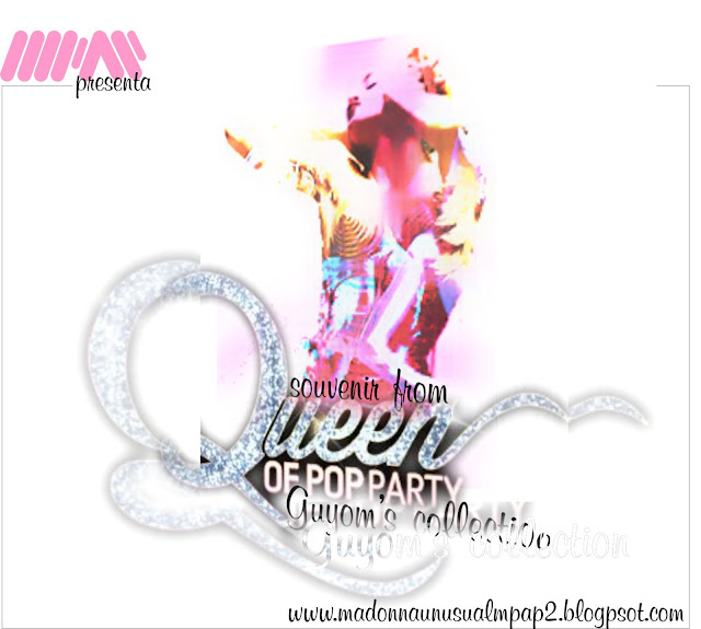 Queen of Pop Party Complete Pack Set by MPAP 2013
