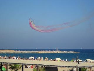 Festa al Cel airshow in Barcelona