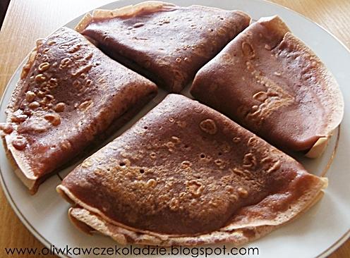 Oliwka W Czekoladzie Kakaowe Nalesniki Z Serkiem Waniliowym
