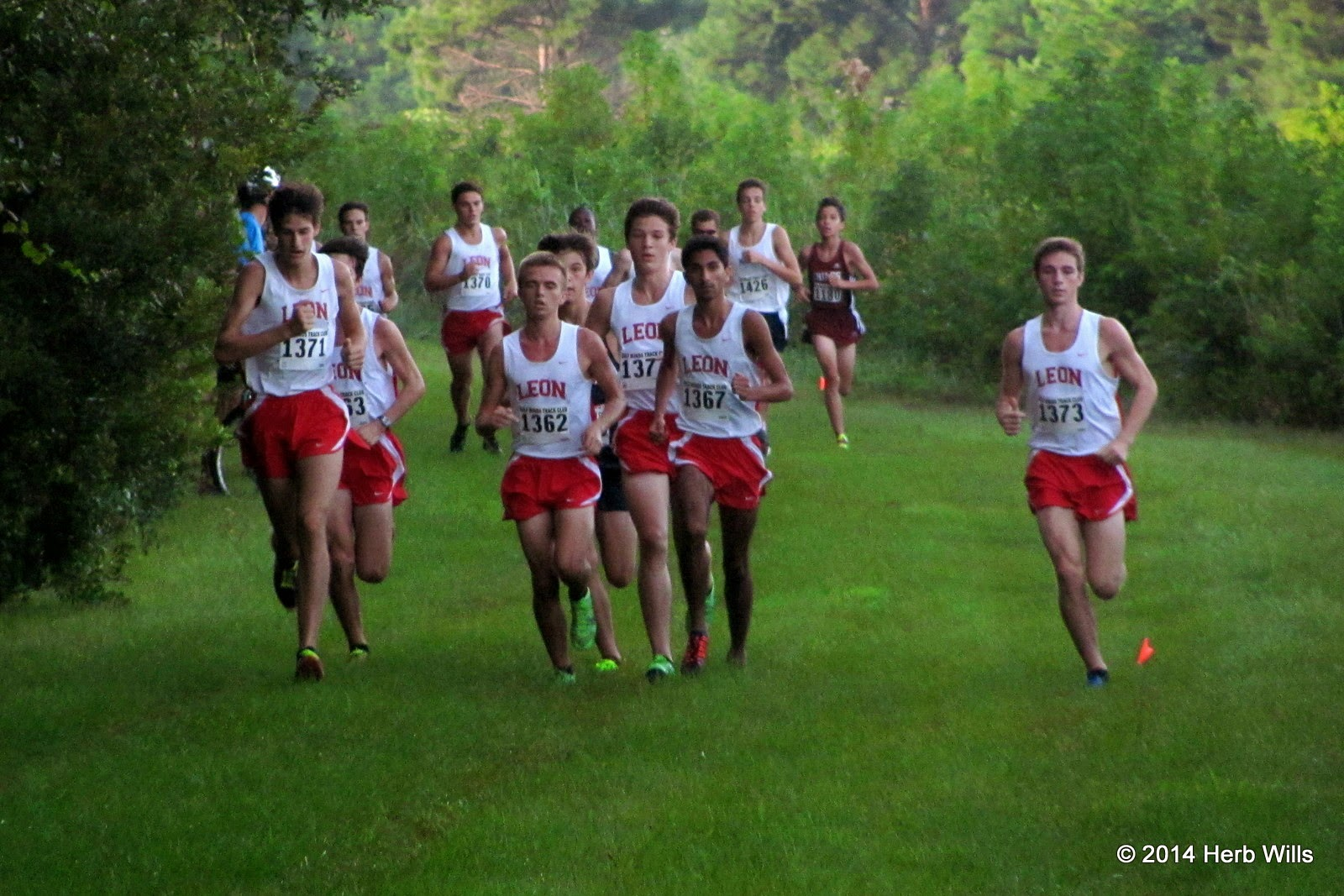 Leon High boys' cross-country team