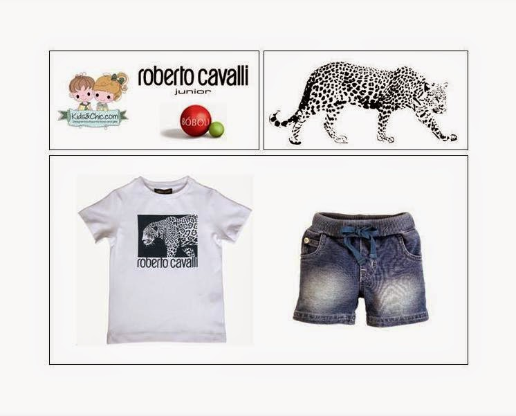 Trendy look for boys, Spring/Summer 2015 - Roberto Cavalli Junior, Boboli