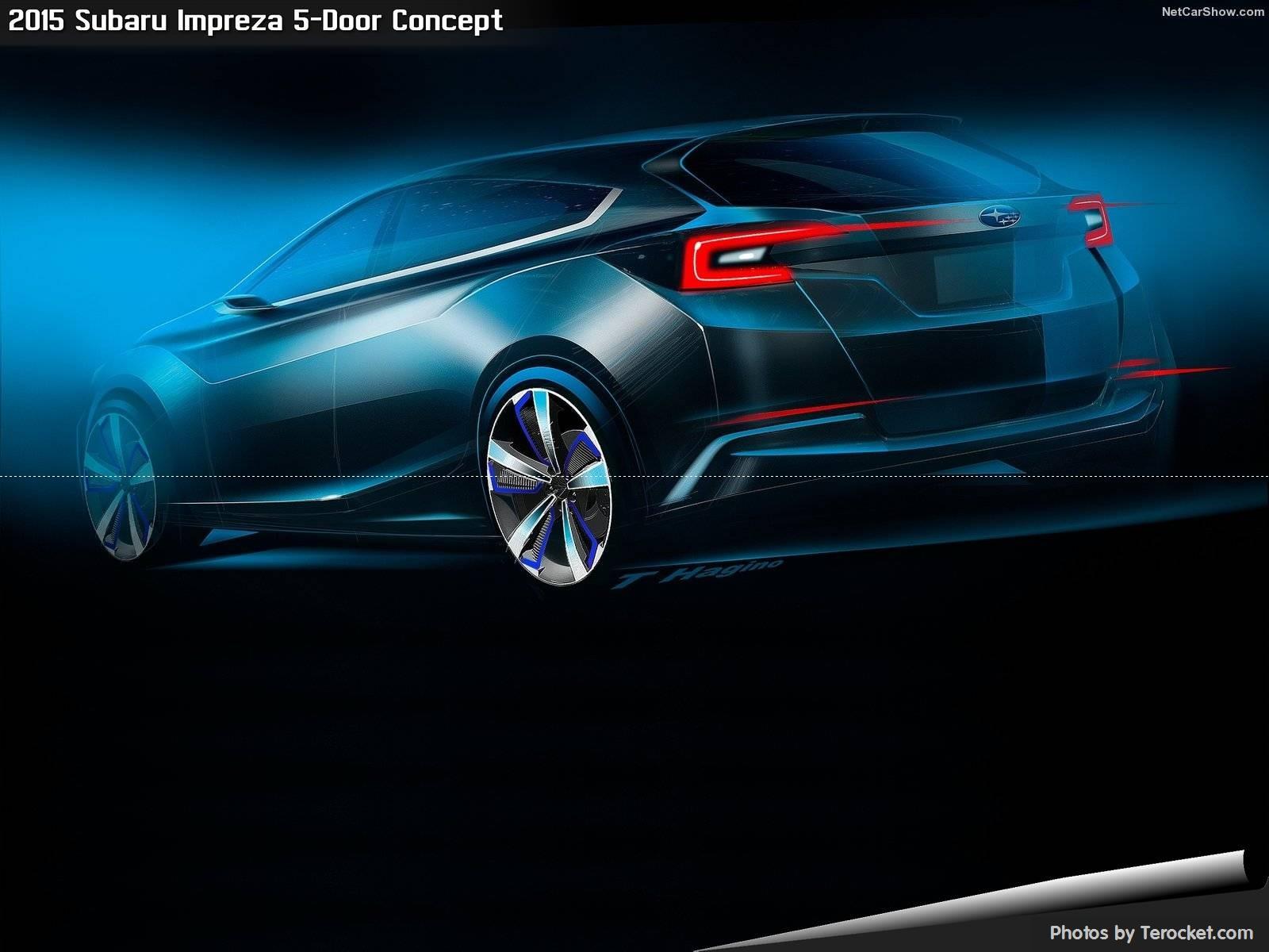 Hình ảnh xe ô tô Subaru Impreza 5-Door Concept 2015 & nội ngoại thất