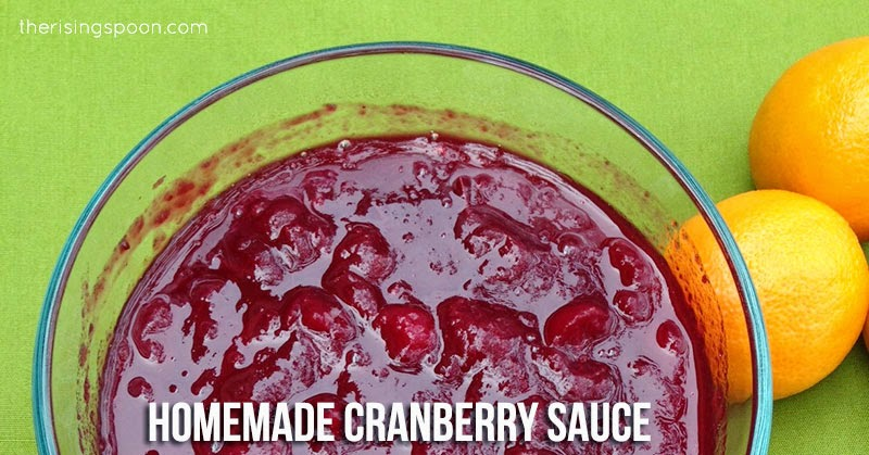 Homemade Cranberry Sauce Recipe (So You Can Skip the Canned Stuff)