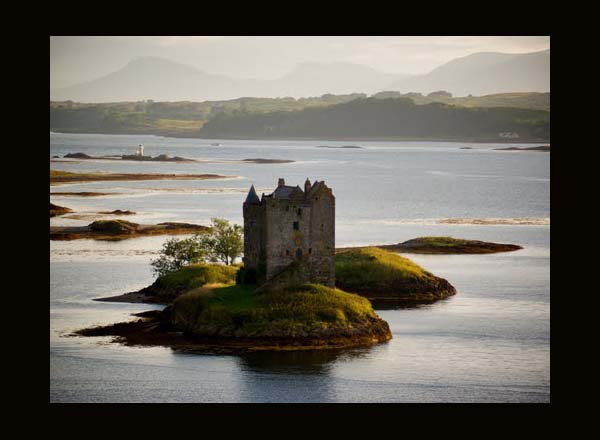 Stalker Castle, Argyll and Bute, Scotland UK, image by grcav, as seen on linenandlavender.net, Take me there.  http://www.linenandlavender.net/p/blog-page_5.html
