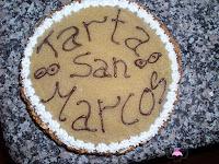 Tarta de San Marcos-montaje-final
