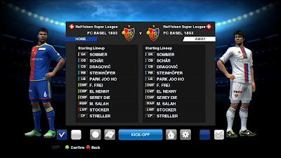 PES 2013 SWISS SUPER LEAGUE: