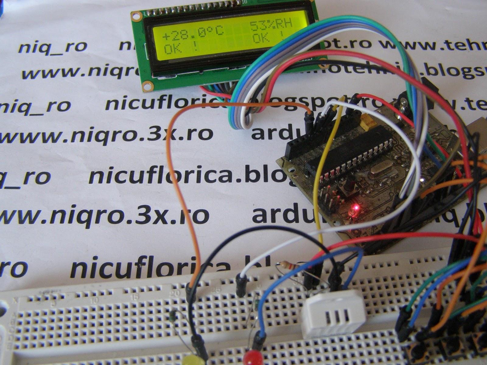 Nicu Florica Niq Ro August 2015 Circuit Pic16f628 Rf Remote Buton 433mhz Button Temperatura Si Umiditate In Parametrii Doriti Optim