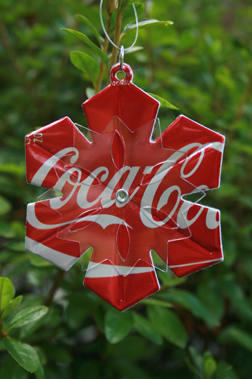 Snowflakes Are Always Popular, These Ones Are Created From Upcycled Coke  Cans.