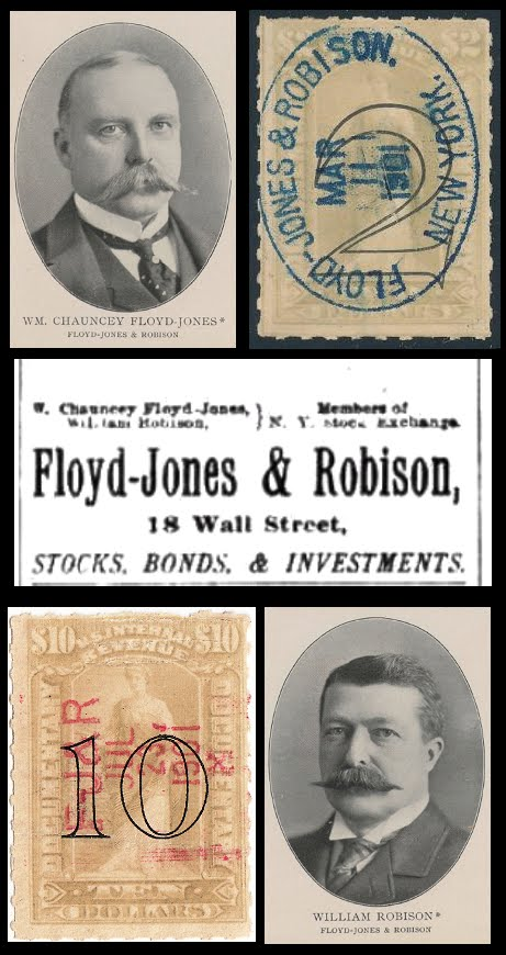 Stock Brokers at 1898 Revenues