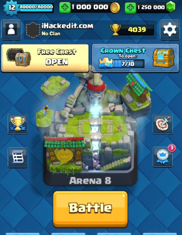 Clash Of Clans Hack Tool for Free Gems