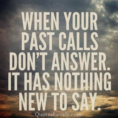 When your past calls don't answer