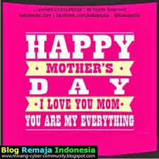 Kumpulan Gambar Kata dan DP Unik Peringatan Hari Ibu