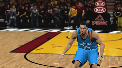 NBA 2K13 Kevin Martin Cyberface Patch