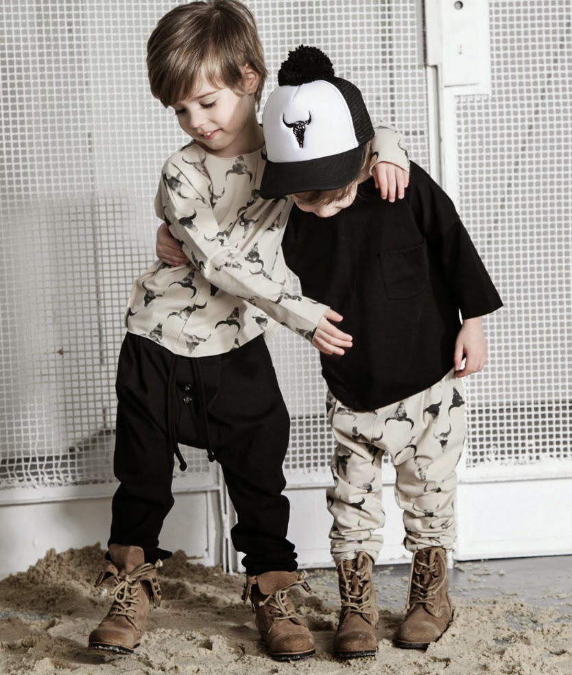 Kloo by Booso - Polish kids fashion spring-summer 2015 - black combo