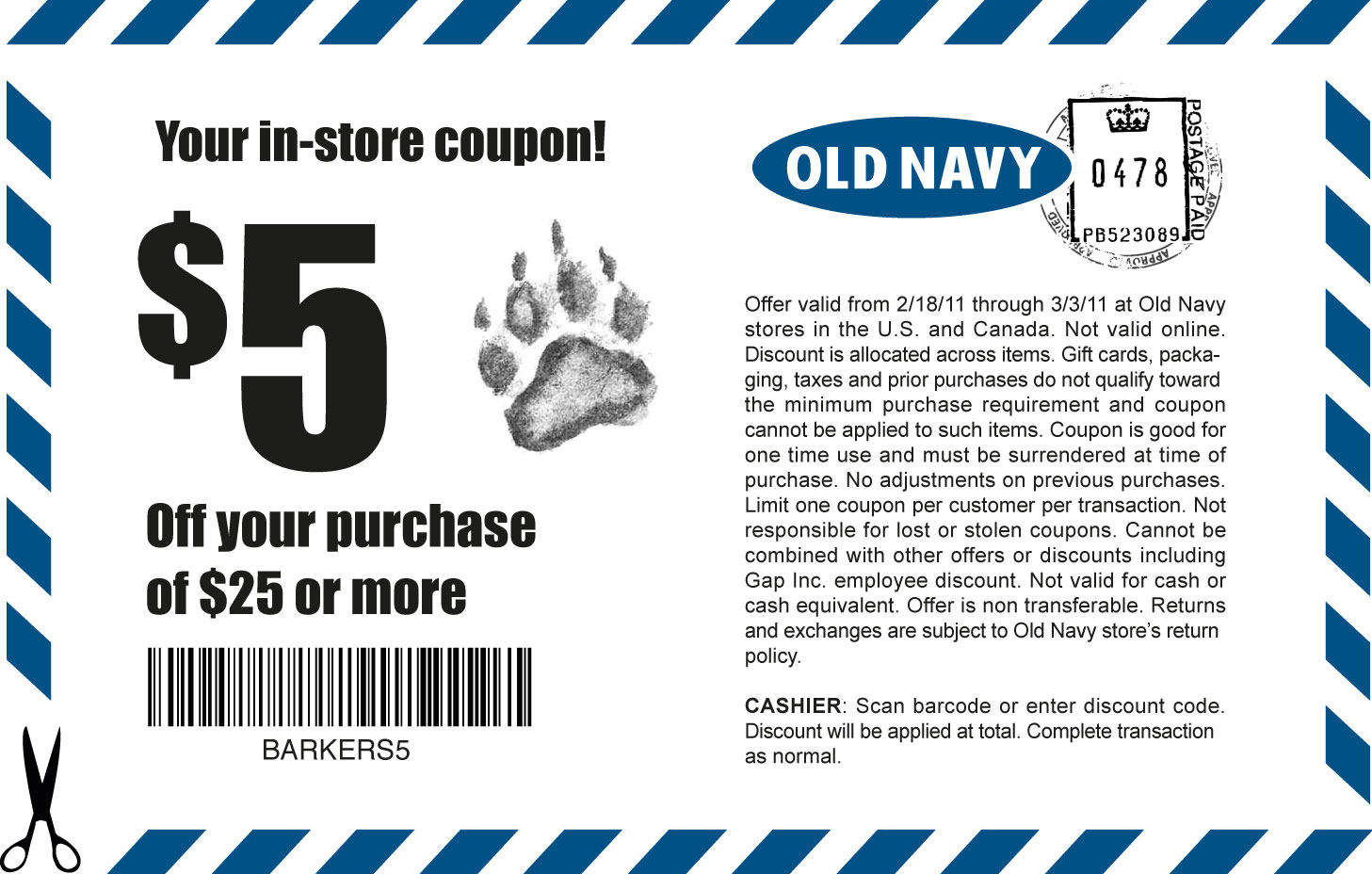 Old Navy Coupon - Cumming Local | Things To Do in Cumming GA Forsyth ...
