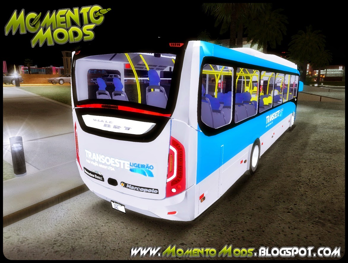GTA SA - Marcopolo Viale BRT (Mercedes Benz 0500M)