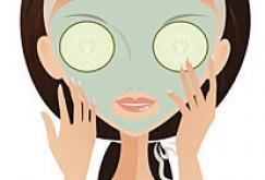 Le masque avec les trous pour les yeux