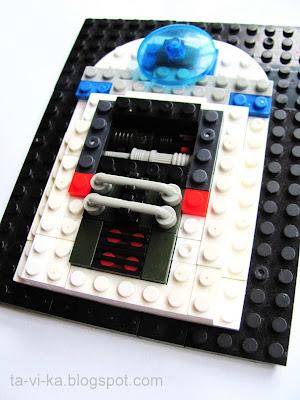 R2D2 из lego