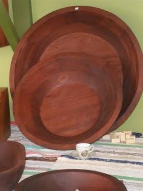 Artesania de madera en fuerteventura lebrillo - Maderas moral ...