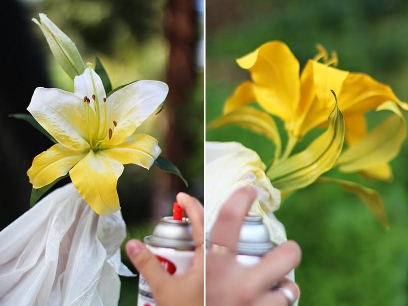 Flor reciclada para la solapa en Recicla Inventa