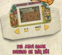 Propaganda do Mini Game do Chico Bento - Tec Toy em 1992