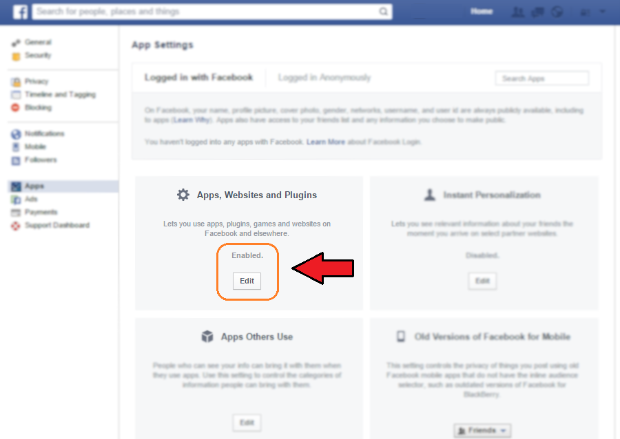 Facebook Apps, Websites and Plugins | Ongtrovert