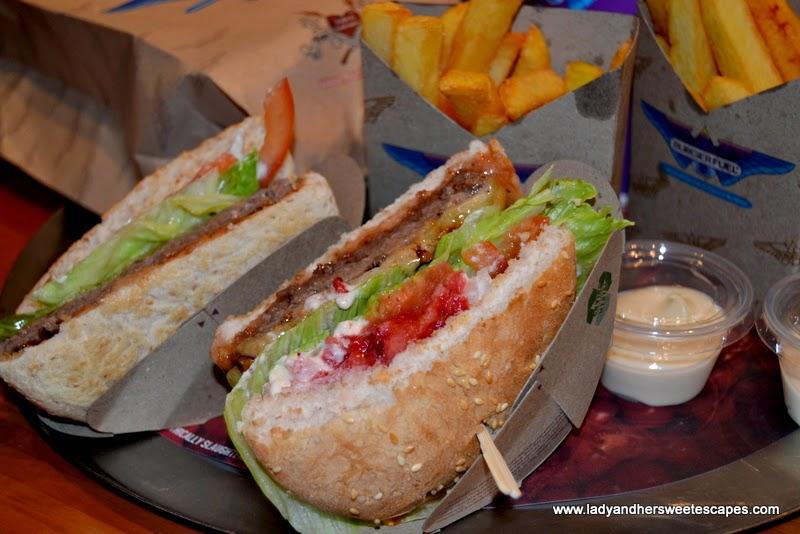 BurgerFuel's CN Cheese and PBJ