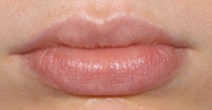 Lips - before permanent makeup