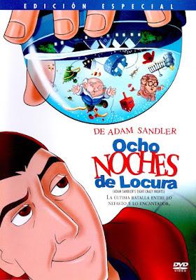 Eight Crazy Nights 2002 DVDR NTSC Latino