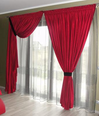Dekoracja okien i drzwi tarasowych - patio