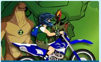 لعبة سباق دراجات نارية بن تن
