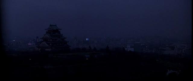Замок Осаки в фильме Ридли Скотта Черный дождь 1989