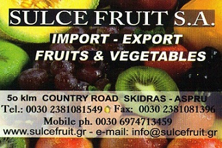 SULCE FRUIT S.A.