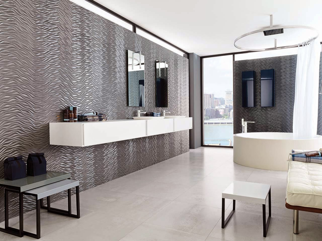 MY DREAM K HOME WITH PORCELANOSA - Porcelanosa bathroom accessories