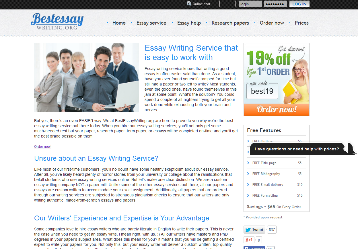 The best essay writers mueth
