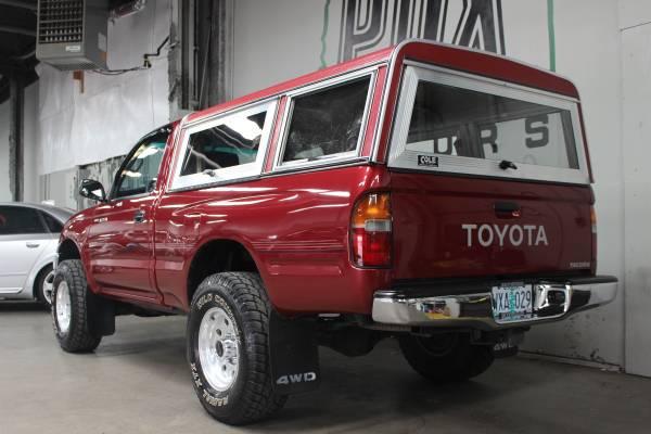 1997 toyota tacoma 4x4 pickup with manual transmission for sale 95 000 original miles. Black Bedroom Furniture Sets. Home Design Ideas