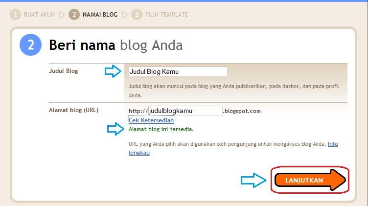 Cara Membuat Blog 7